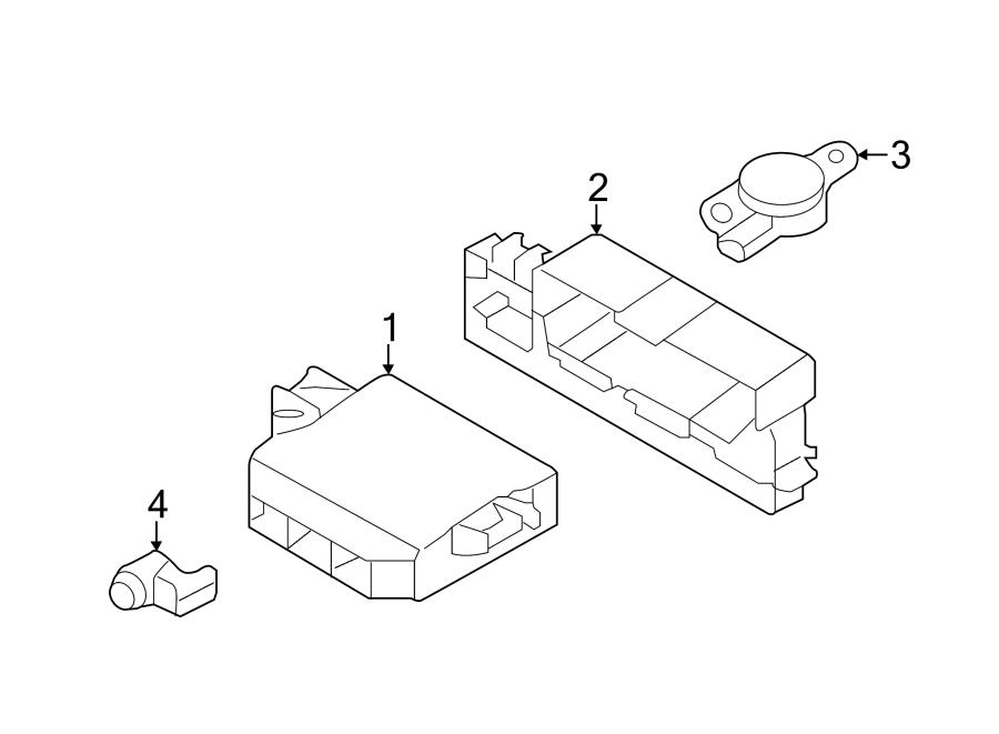 Audi A3 Sportback E-tron Parking Aid Control Module  Assist  Sensors  Sensor
